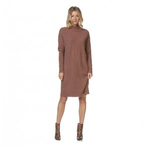 Knit Dress Damsville Prunette Melange