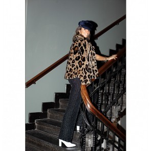 Jacket Faux Fur Gilbertine Animal Print