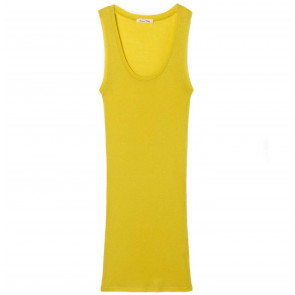 Tank Top Massachusetts Mustard