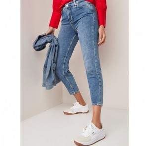 Jeans Talia Relaxed Fit Medium Blue