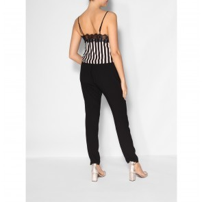 Slip Top Dallas Noir Stripe