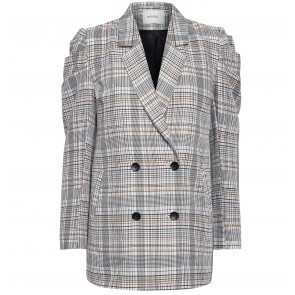 Blazer Ginnie Red/Yellow Check
