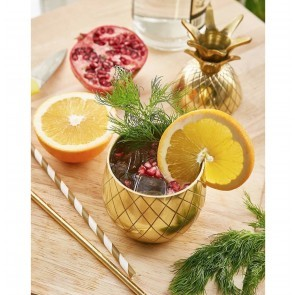 Large Pineapple Tumbler Gold