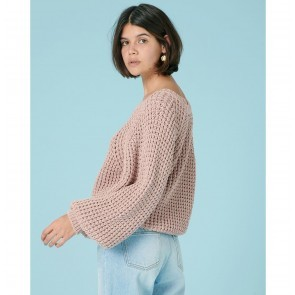 Knit Pullover Coama Rose Tan
