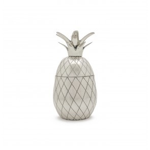 Pineapple Cocktail Tumbler Silver