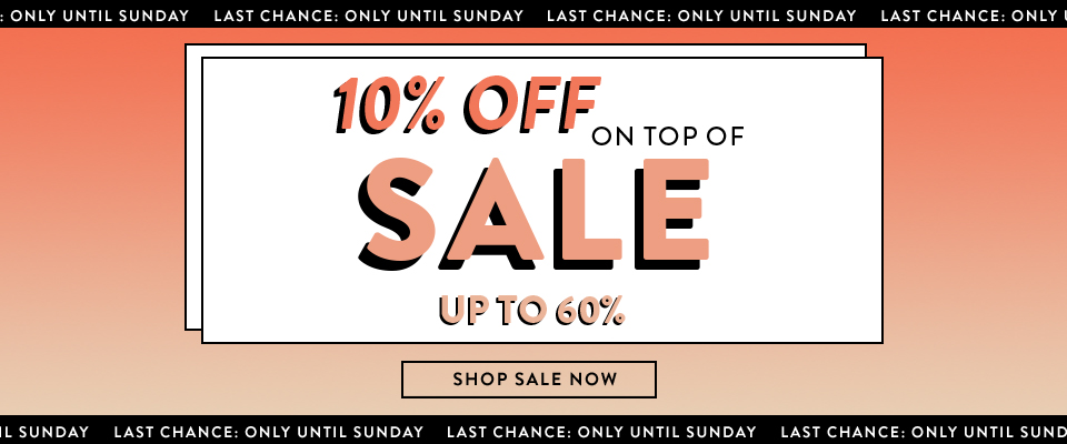 Sale has started
