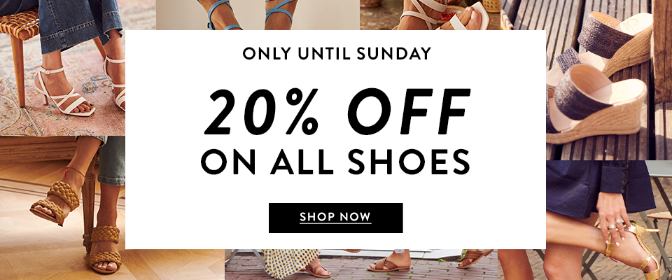 20% off on all shoes